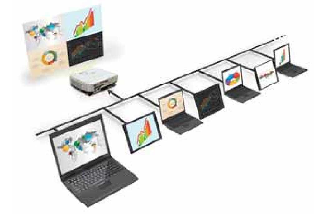 Trình chiếu từ nhiều máy tính hoặc thiết bị thông minh cùng lúc