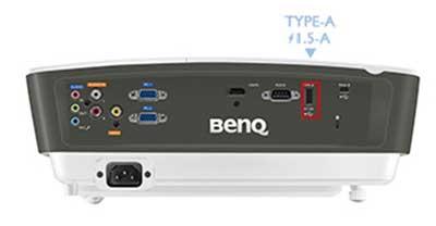 USB Type-A hỗ trợ nguồn điện 1.5A