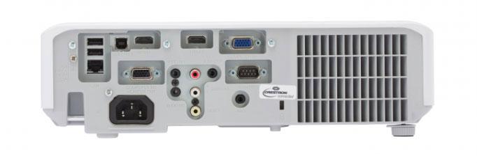 Cổng kết nối của CP-EX252N