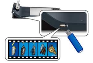 Ghi âm Video / Audio và Lưu trữ bộ nhớ mở rộng