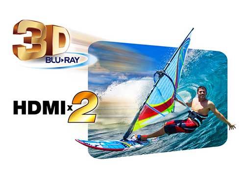 Đầu vào HDMI Blu-ray kép 3D
