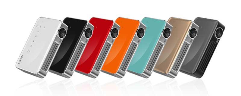 Máy chiếu Vivitek Qumi Q6 với nhiều màu sắc cho bạn lựa chọn