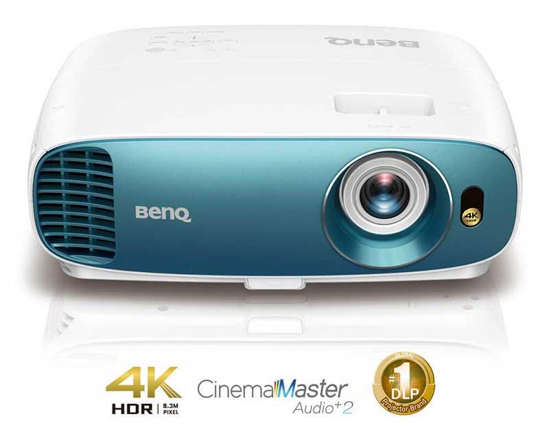 BenQ giới thiệu máy chiếu TK800 sử dụng công nghệ DLP 4K
