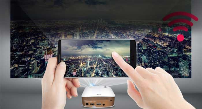 Cách kết nối điện thoại với máy chiếu