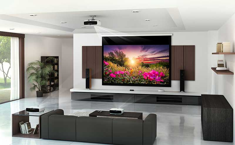 Cách điều chỉnh màn hình máy chiếu