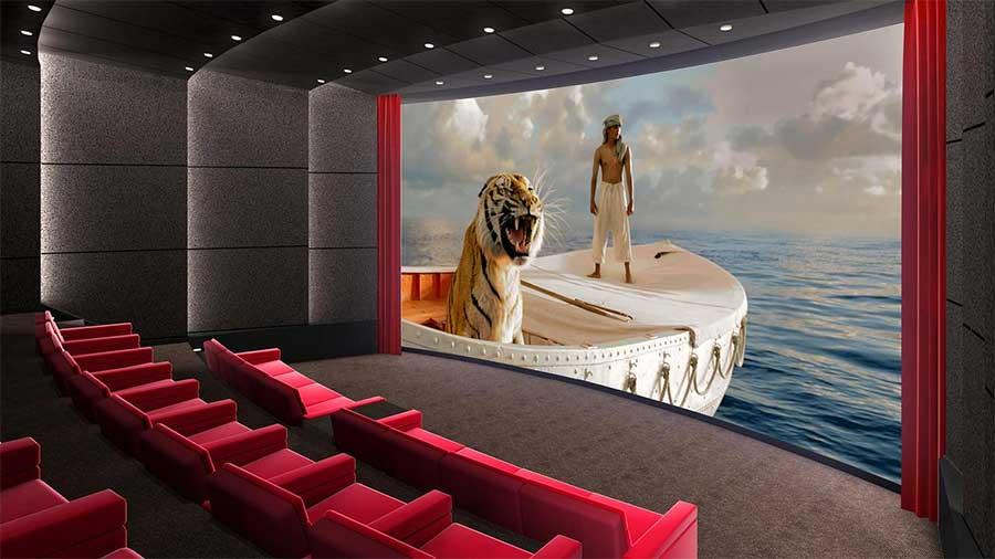 Kích thước màn hình rạp chiếu phim Imax