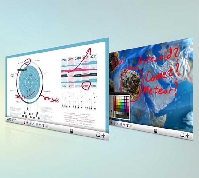 Phần mềm chú thích tương tác ViewBoard ™