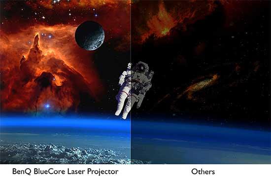 Tương phản cực cao được kích hoạt bằng Laser