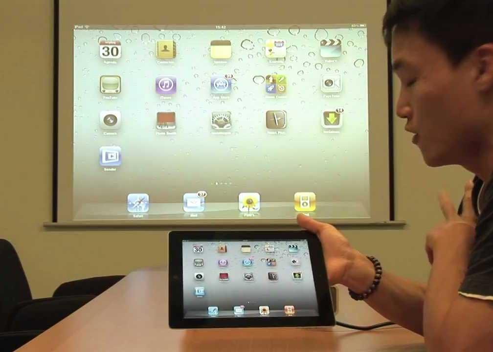 Kết nối iPad với Máy Chiếu qua wifi