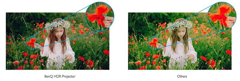 Tự động tạo màu tự nhiên HDR cho màu sắc sống động như thật