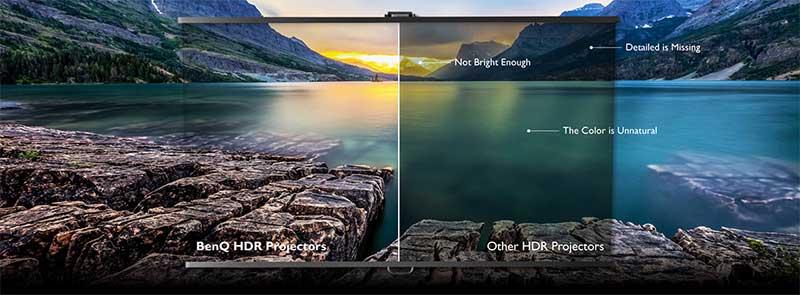 Chất lượng video siêu thực được hỗ trợ bởi công nghệ HDR 10