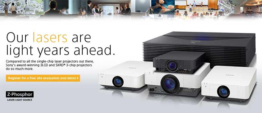 Những mẫu máy chiếu Laser mới của Sony