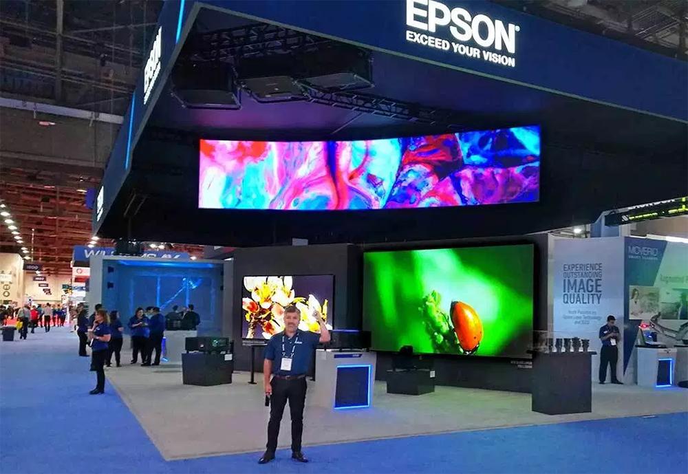 Epson giới thiệu Máy chiếu laser và công nghệ trình chiếu tiên tiến tại InfoComm 2018