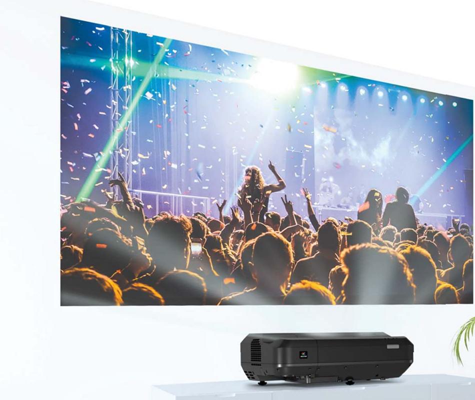 Máy chiếu siêu gần Laser Full HD Epson EH-LS100