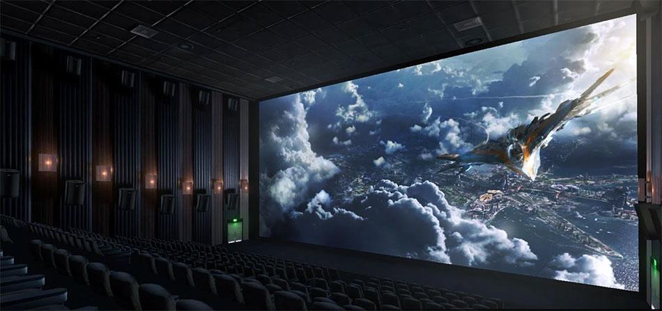 Máy chiếu 4K phù hợp cho rạp chiếu phim chuyên nghiệp hoặc hội trường lớn