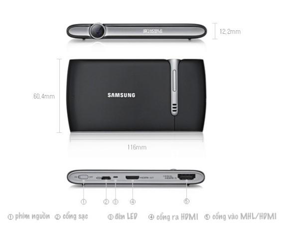 Máy chiếu mini Samsung EAD-R10