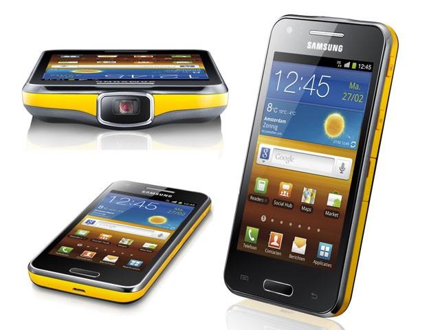 Máy chiếu mini Samsung Galaxy Beam 1 thiết kế thông minh đầy sáng tạo
