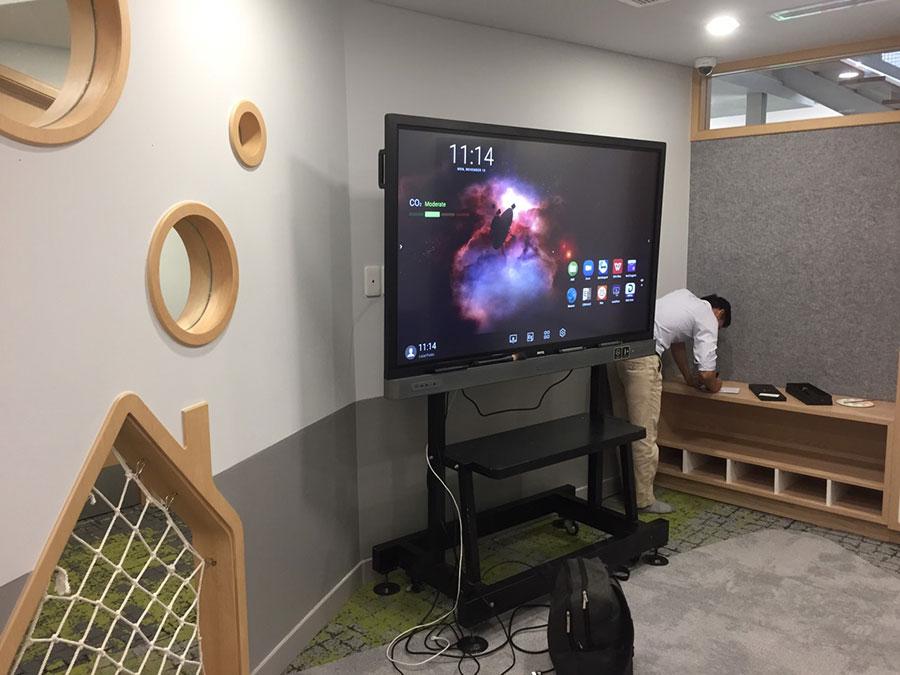 Dịch vụ cho thuê màn hình tương tác thông minh BenQ