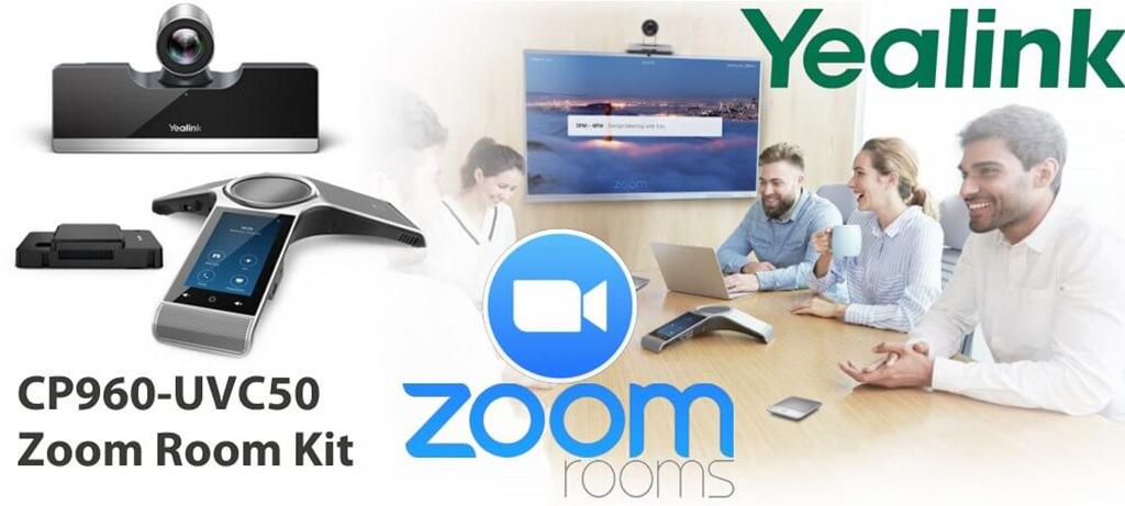 Giải pháp hội nghị truyền hình Yealink CP960-UVC50 Zoom Rooms Kit