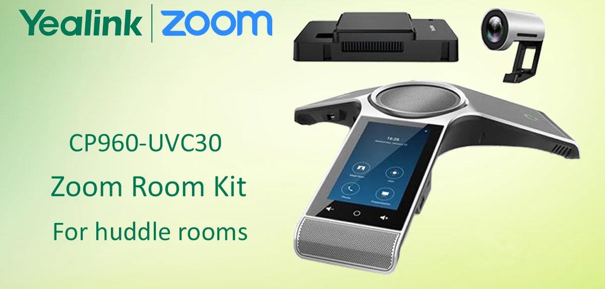 Giải pháp hội nghị truyền hình Yealink CP960-UVC30 Zoom Rooms Kit